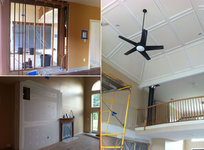 CONSTRUCTION PHOTOS - GREAT ROOM