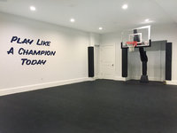 BASEMENT SPORTS ROOM